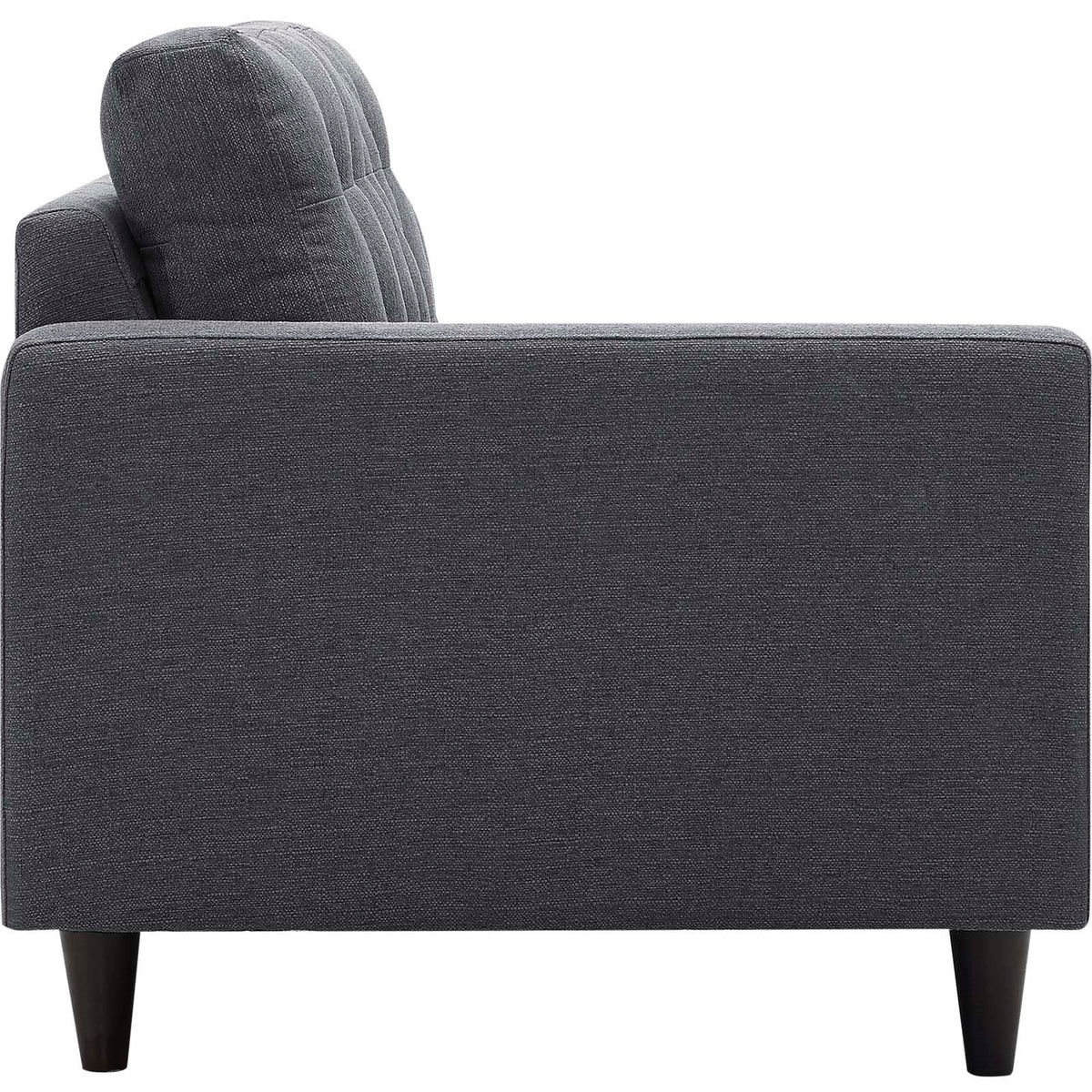 Tati 2 Piece Upholstered Sectional Gray