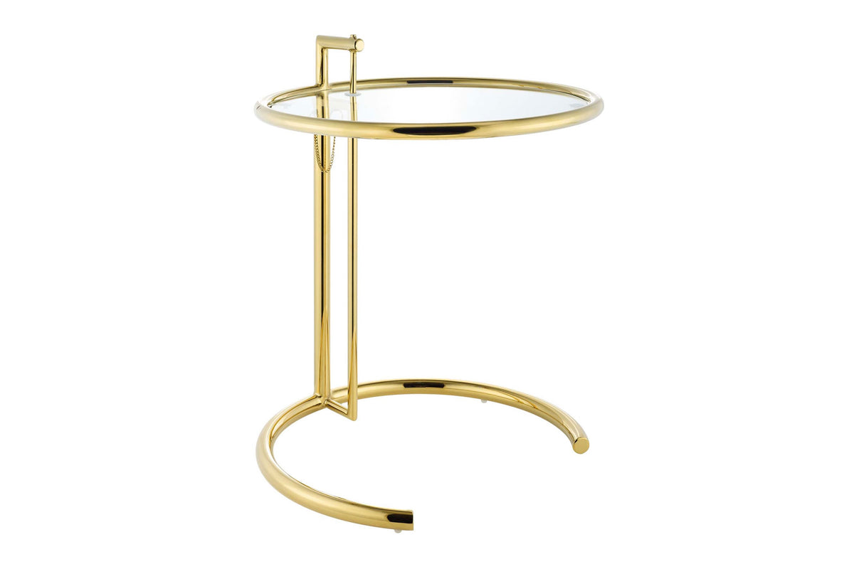 Lena Gold Stainless Steel End Table