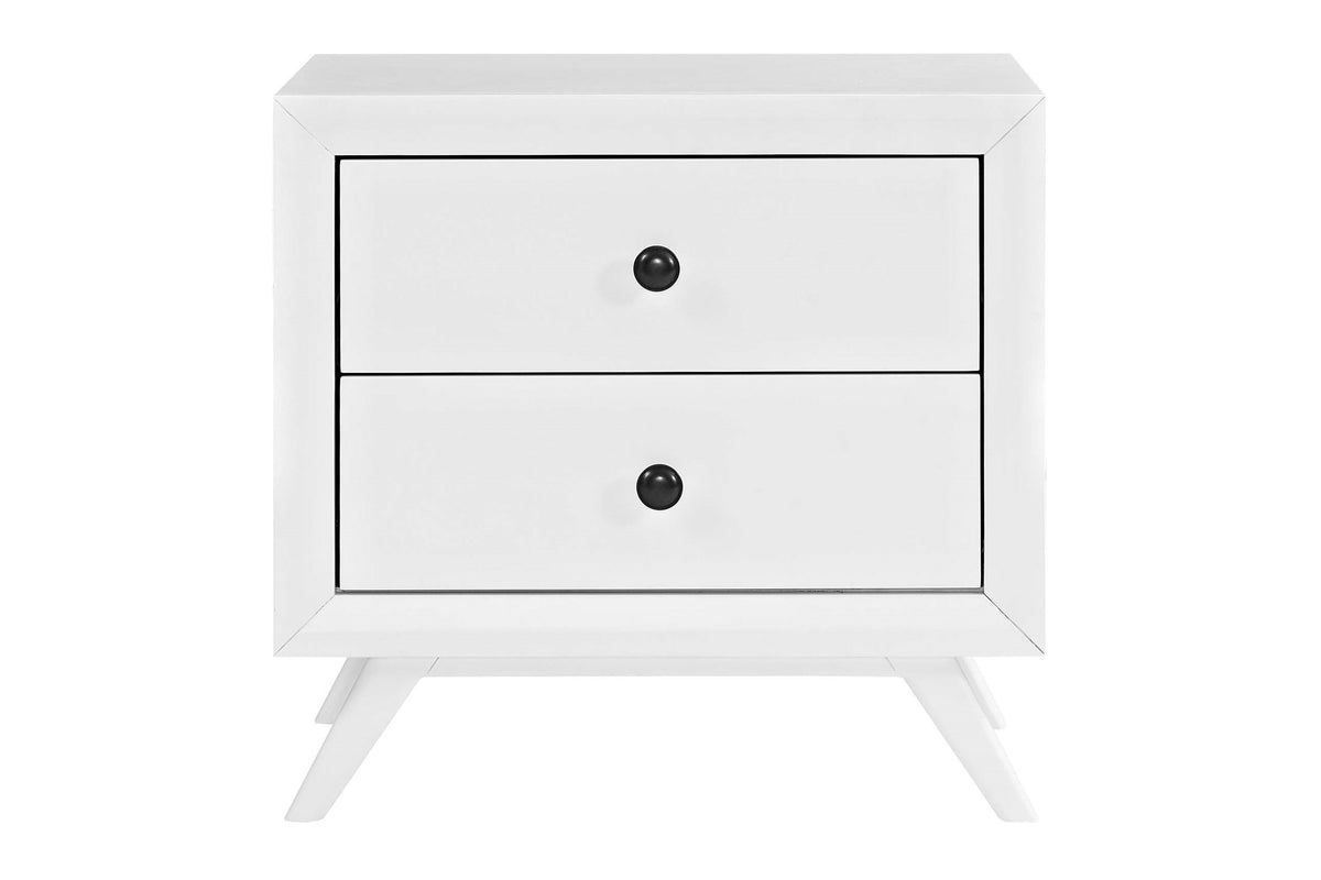 Arista Nightstand White