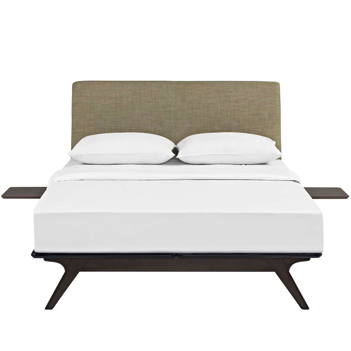 Lovo Queen Bed Set Capuccino Latte