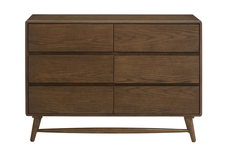 Karma Wood Dresser Chestnut