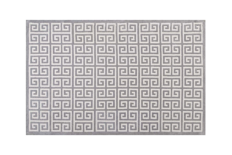 Zalco 8x10 Area Rug Light Gray