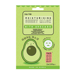SUGU Moisturising Sheet Mask With Avocado