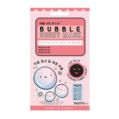 SUGU Bubble Sheet Mask