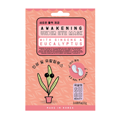 SUGU Awakening Under Eye Mask With Ginseng & Eucalyptus