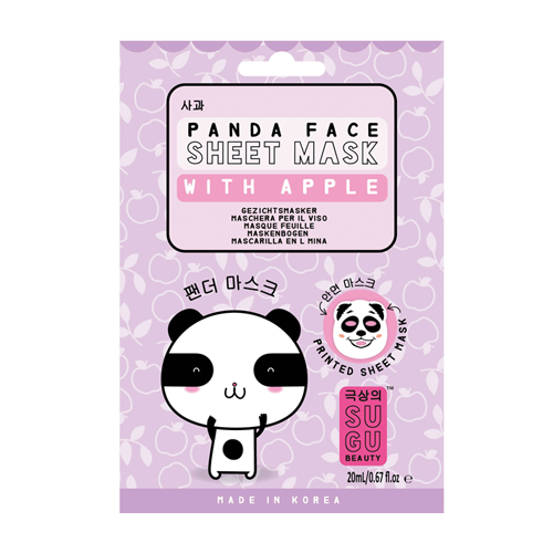 SUGU Panda Face Sheet Mask With Apple
