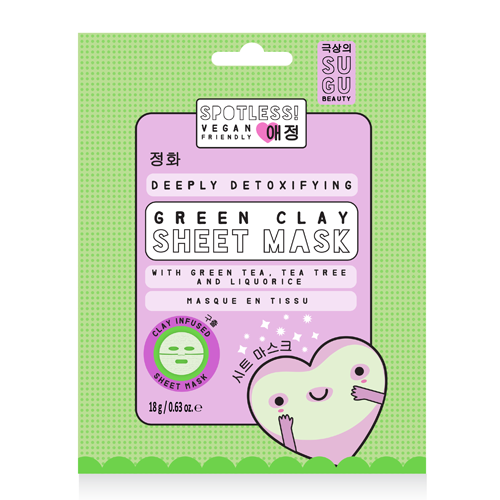 SUGU Spotless Clay Sheet Mask