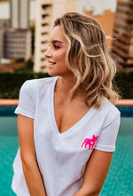 Remera Frenchie Neon Pink