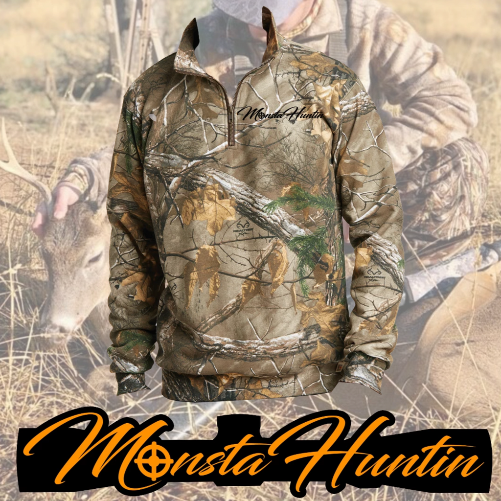 Limited Edition MonstaHuntin 1/4 Zip