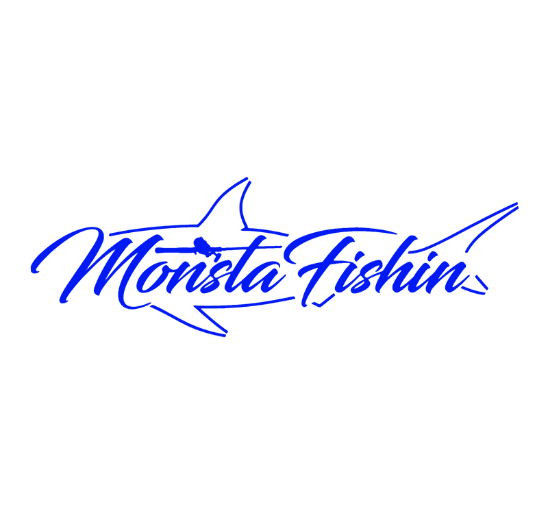Monsta Shark Decal
