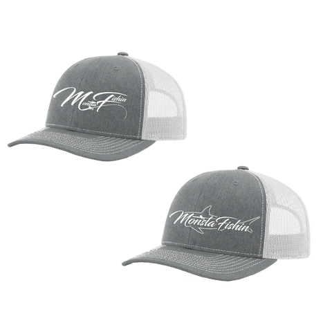 Heather Grey Styled Monsta Hats