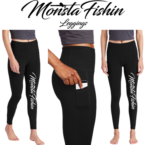 MonstaFishin Ladies Leggings