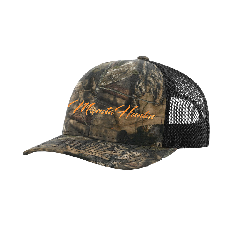 MonstaHuntin Hat Neon