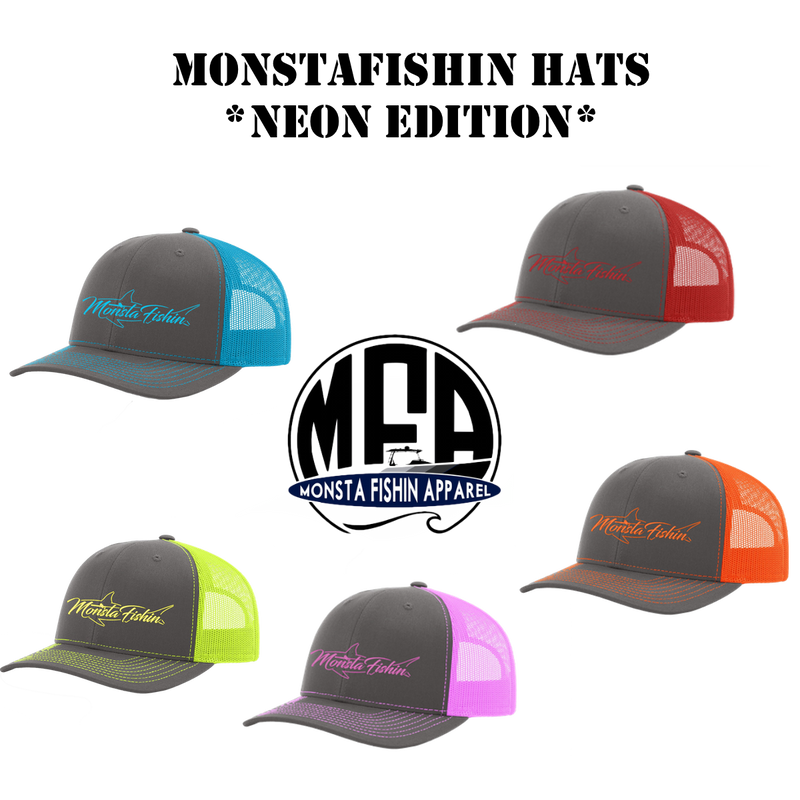 Pro MONSTA Hats         *Neon Edition*