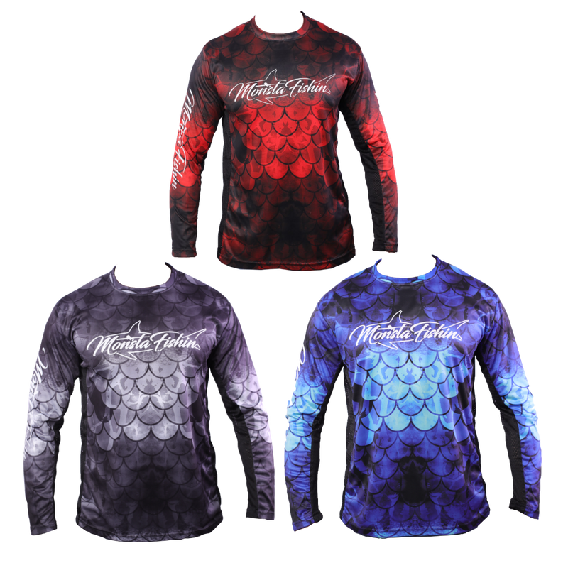 Monsta Mesh Performance Shirts