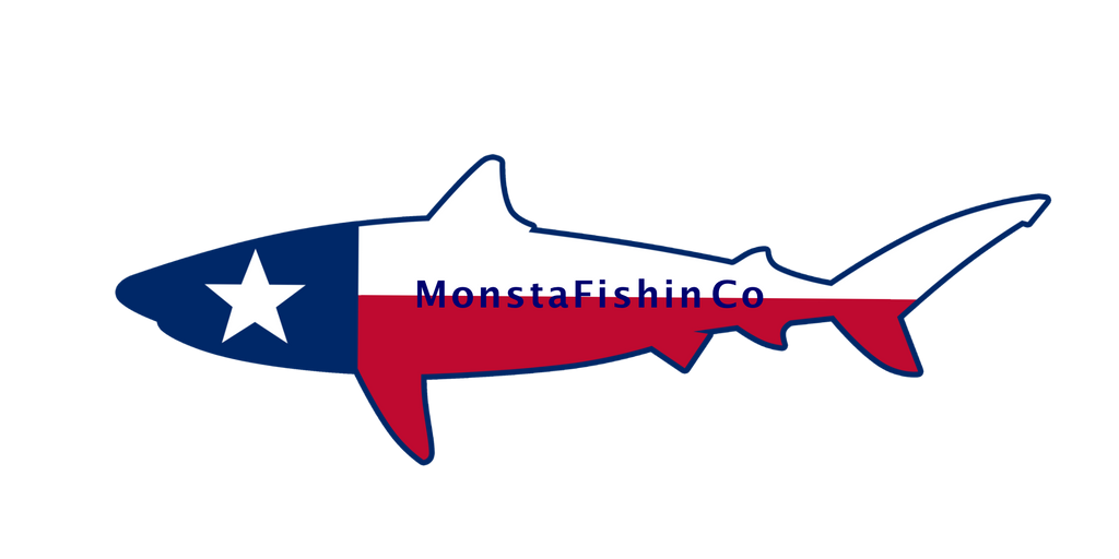 "TX Shark Decal (14"" X 4.5"")"