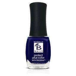 Midnight in Paris (A Creamy Midnight Blue/Purple) - Protect+ Nail Color w/ Prosina - Barielle - America's Original Nail Treatment Brand