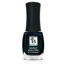 Blackened Bleu (A Black w/ Sapphire Sparkle) - Protect+ Nail Color w/ Prosina - Barielle - America's Original Nail Treatment Brand