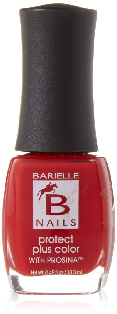 Dinner at 8 (Plum Red Rose) - Protect+ Nail Color w/ Prosina - Barielle - America's Original Nail Treatment Brand