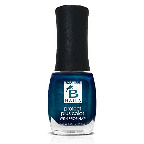 Sky's the Limit (A Sapphire Blue w/ Shimmer) - Protect+ Nail Color w/ Prosina - Barielle - America's Original Nail Treatment Brand