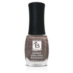 Iced Cinnamon (A Rich Metallic Brown) - Protect+ Nail Color w/ Prosina - Barielle - America's Original Nail Treatment Brand