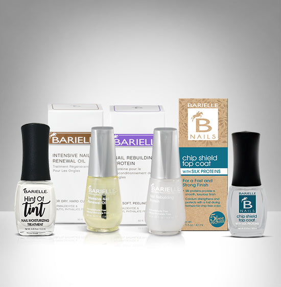 Barielle Perfect Manicure Bundle 4-PC SET - Barielle - America's Original Nail Treatment Brand