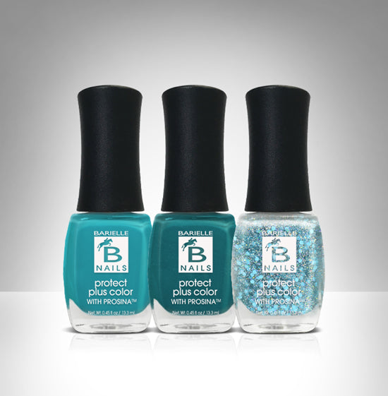 Barielle Ocean Seas 3-PC Nail Polish Set - Barielle - America's Original Nail Treatment Brand