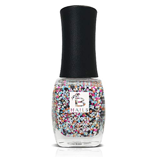 Confetti (A Multi-Color Glitter) - Protect+ Nail Color w/ Prosina - Barielle - America's Original Nail Treatment Brand