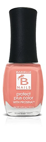 Peach Popsicle (Creamy Coral Peach) - Protect+ Nail Color w/ Prosina - Barielle - America's Original Nail Treatment Brand