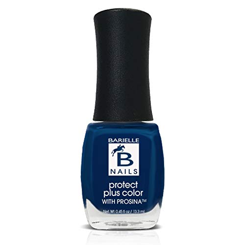 Berry Blue (A Creamy Navy Blue) - Protect+ Nail Color w/ Prosina - Barielle - America's Original Nail Treatment Brand