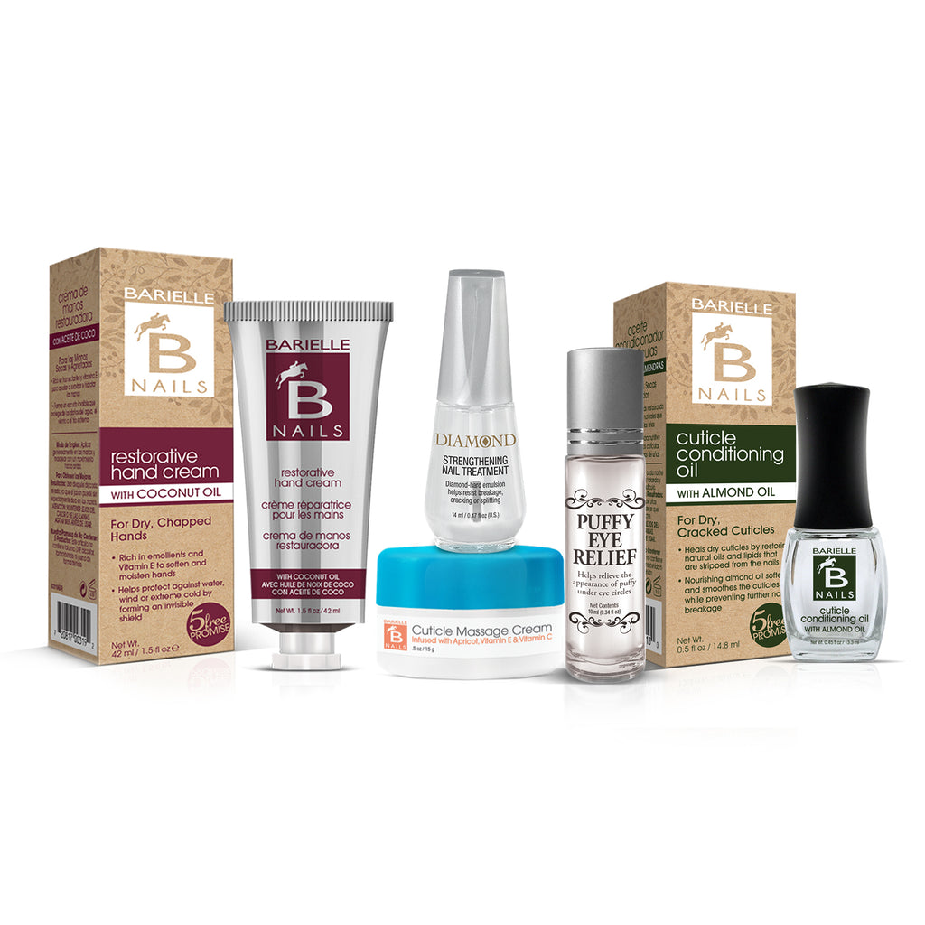 Barielle Beach Bag Essentials Collection 5-PC Set - Barielle - America's Original Nail Treatment Brand