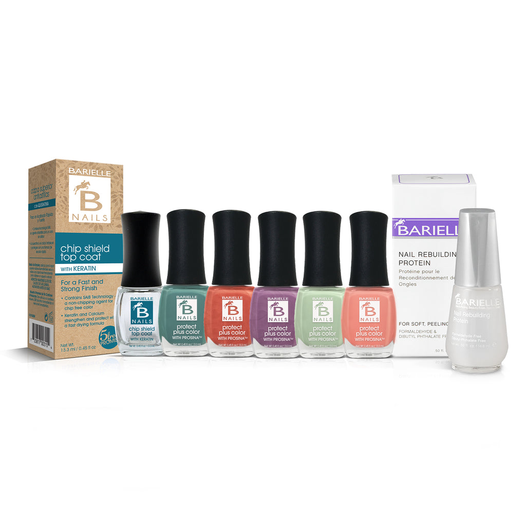 Barielle Splash Into Summer Collection 7-Piece Set - Barielle - America's Original Nail Treatment Brand