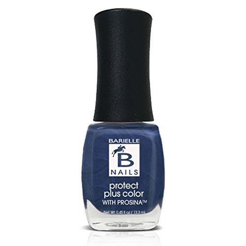 Jordana's Skinny Jeans (A Frosted Sapphire Blue) - Protect+ Nail Color w/ Prosina - Barielle - America's Original Nail Treatment Brand
