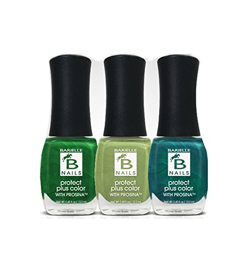 Barielle Guacamole Day 3-PC Nail Polish Bundle - Barielle - America's Original Nail Treatment Brand