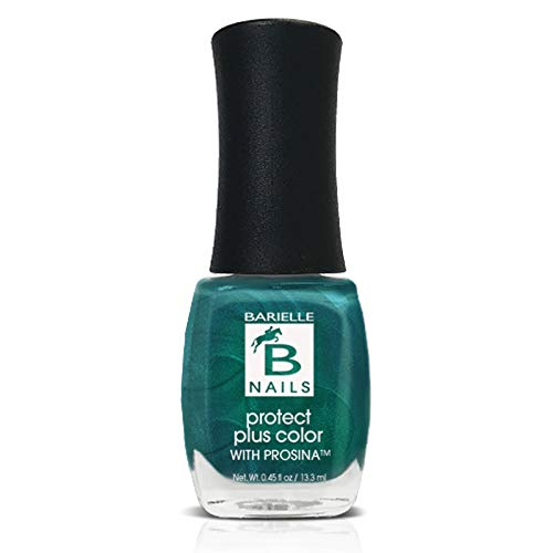End of the Rainbow (A Sheer Aqua Green w/ Shimmer) - Protect+ Nail Color w/ Prosina - Barielle - America's Original Nail Treatment Brand