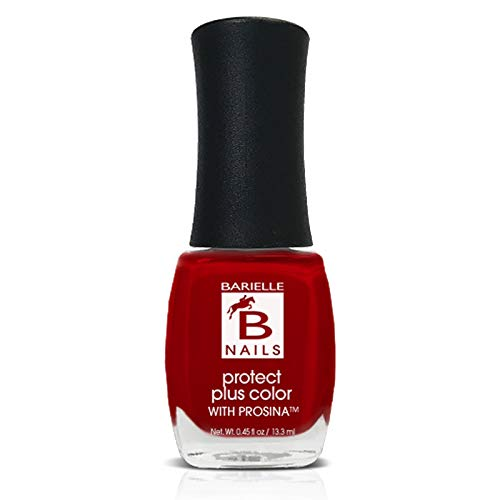 Academy Award (Creamy True Red) - Protect+ Nail Color w/ Prosina - Barielle - America's Original Nail Treatment Brand