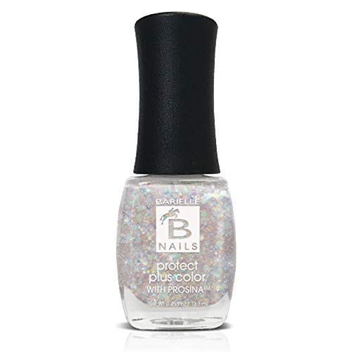 Angel Dust (A Sheer Iridescent Glitter) - Protect+ Nail Color w/ Prosina - Barielle - America's Original Nail Treatment Brand