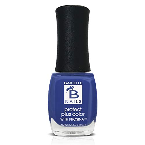 Protect+ Nail Color w/ Prosina - Blue Capri (A Creamy Royal Blue) - Barielle - America's Original Nail Treatment Brand
