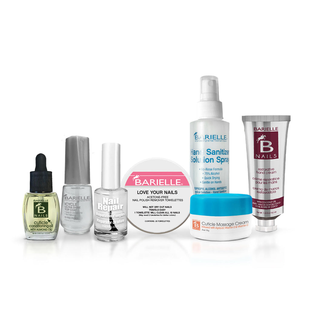 Barielle Be Prepared for Cabin Fever Set 7-PC Set - Barielle - America's Original Nail Treatment Brand