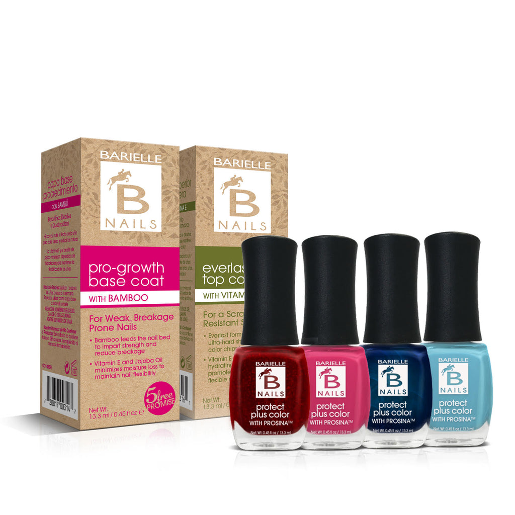Barielle Celebrate the New You in the New Year 6PC Color & Treatment Set - Barielle - America's Original Nail Treatment Brand