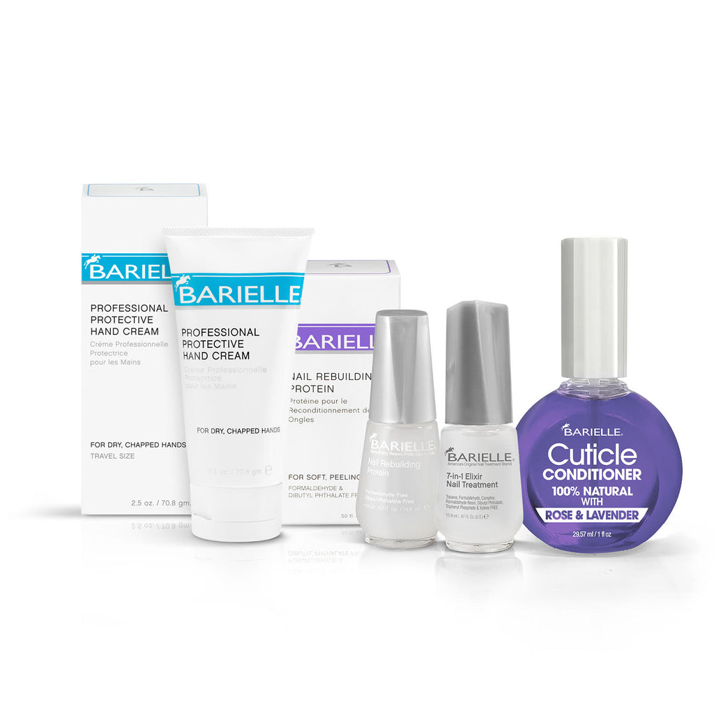 Barielle Nail Care Extraordinaire Bundle 4-PC Set - Barielle - America's Original Nail Treatment Brand