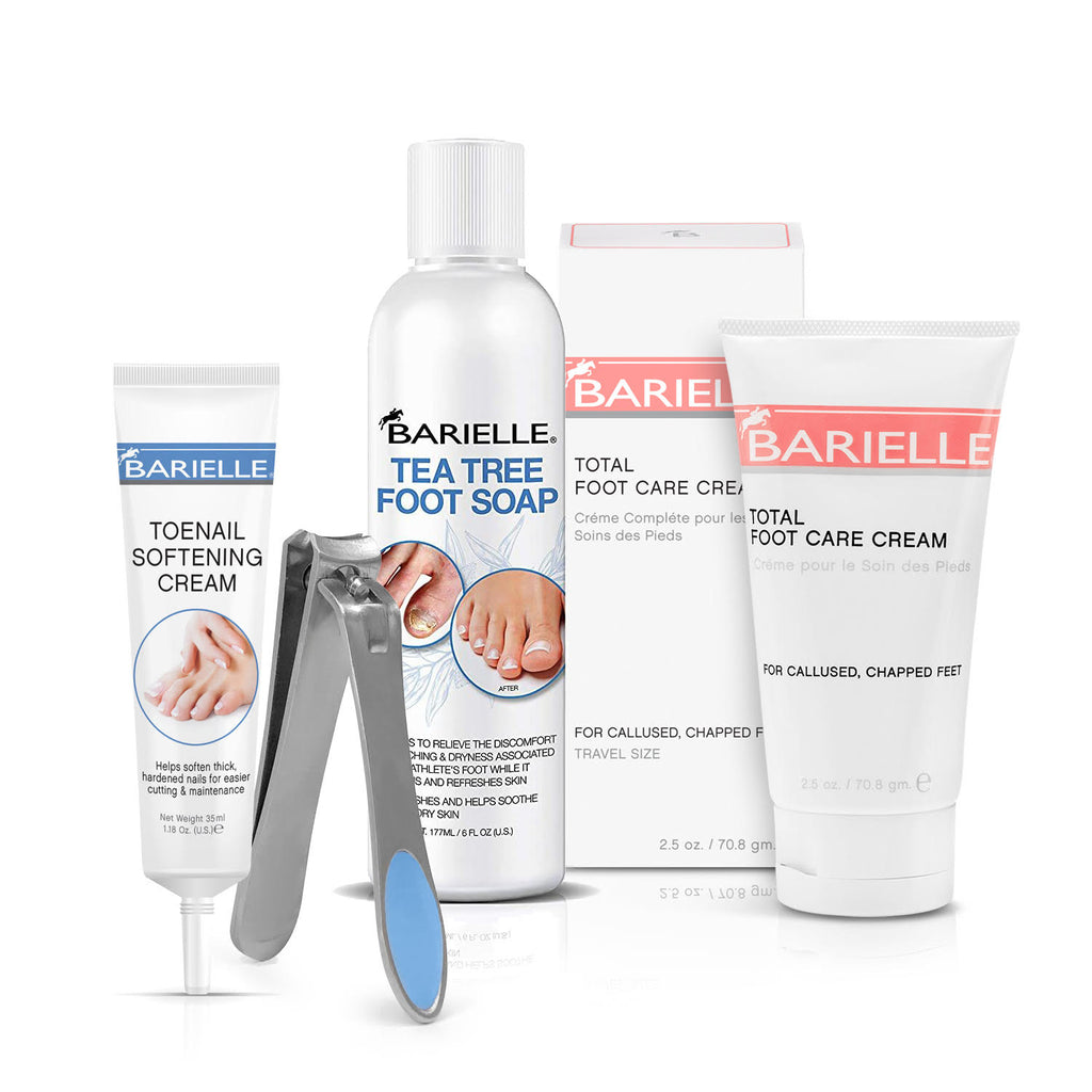 Barielle Foot Spa Treatment 4-PC Foot Care Set - Barielle - America's Original Nail Treatment Brand