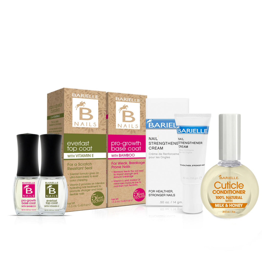Barielle Nail Care Essentials Bundle 4-PC Set