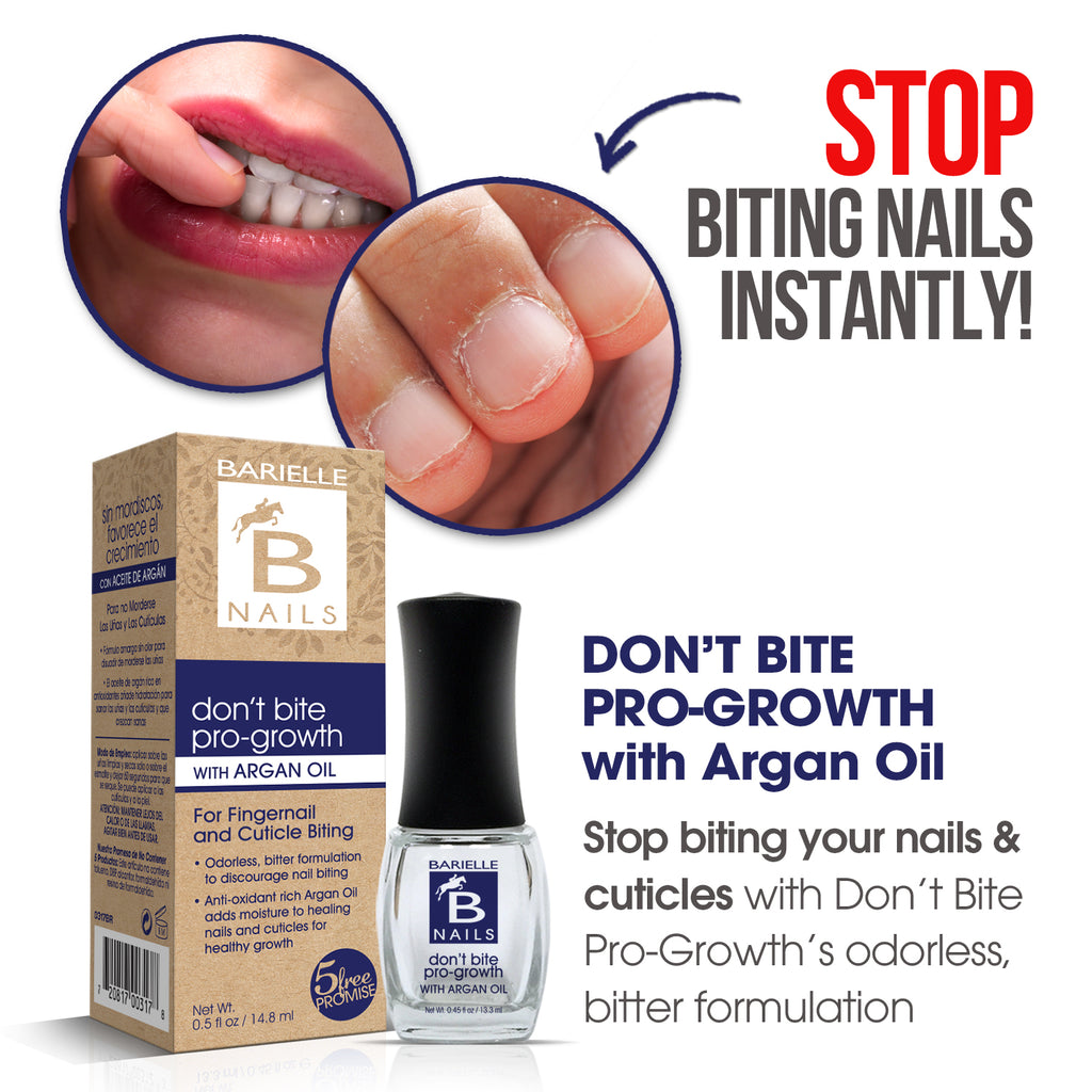 Barielle B Nails Don't Bite Pro-Growth w/ Argan Oil .45 oz. - Barielle - America's Original Nail Treatment Brand