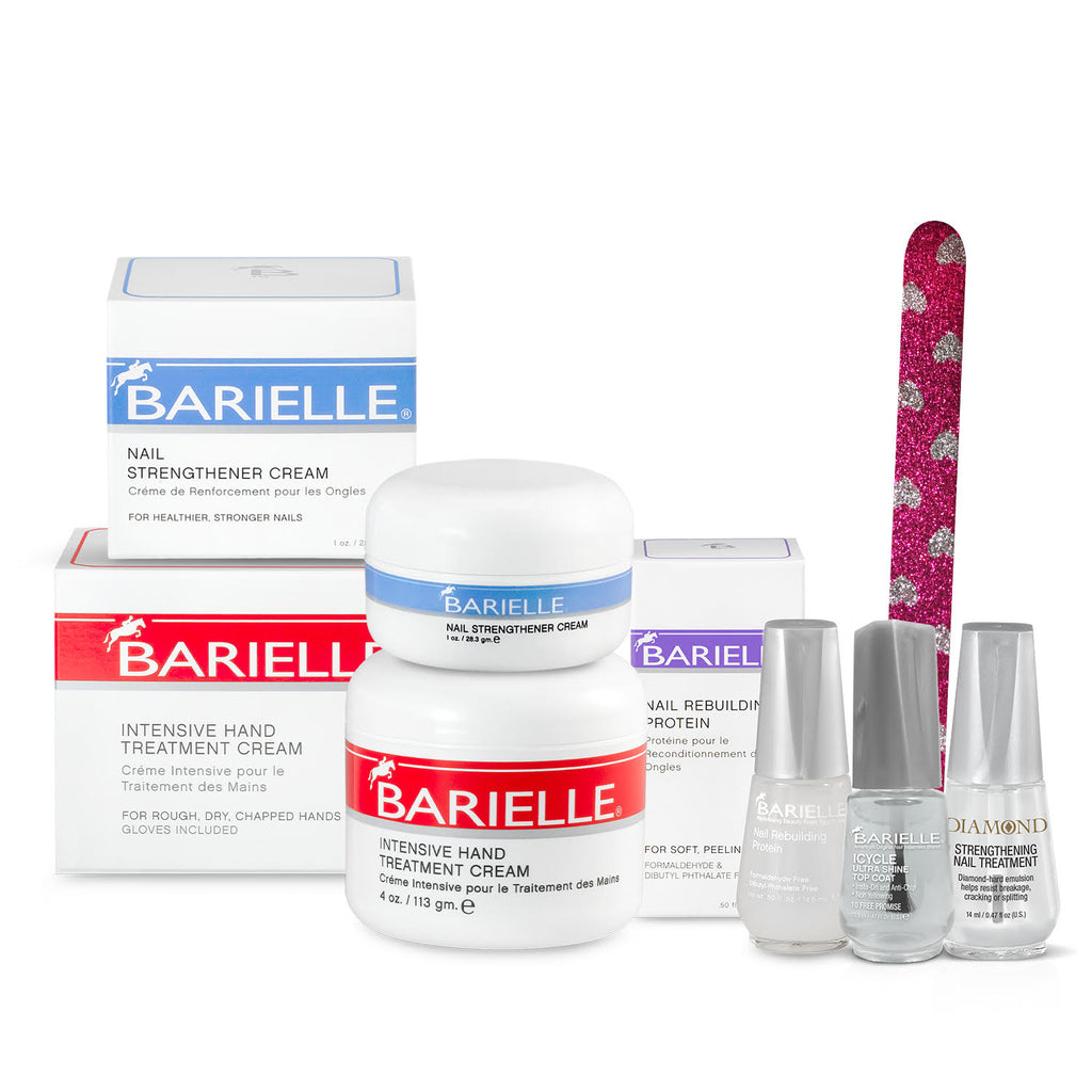 Barielle Intensive Repair Bundle 5-PC Deluxe Set - Barielle - America's Original Nail Treatment Brand