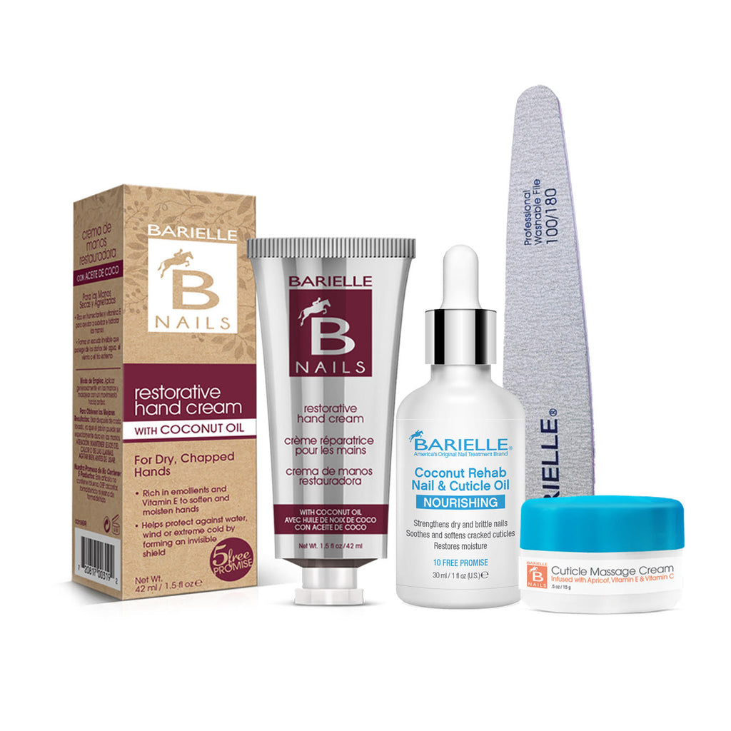 Barielle Tropical Cuticle Bundle 4-PC Set - Barielle - America's Original Nail Treatment Brand