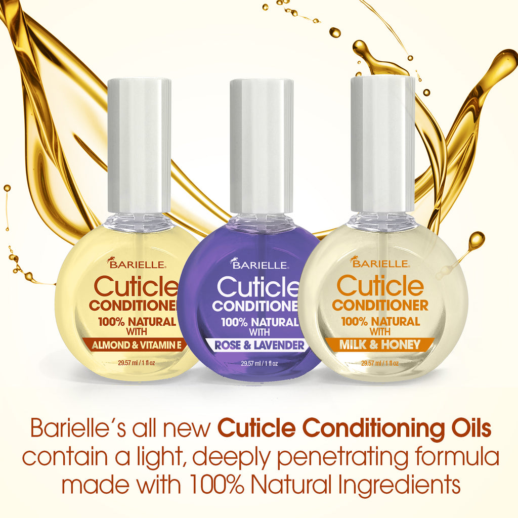 Barielle 100% Natural Cuticle Conditioner with Milk & Honey 1 oz. - Barielle - America's Original Nail Treatment Brand