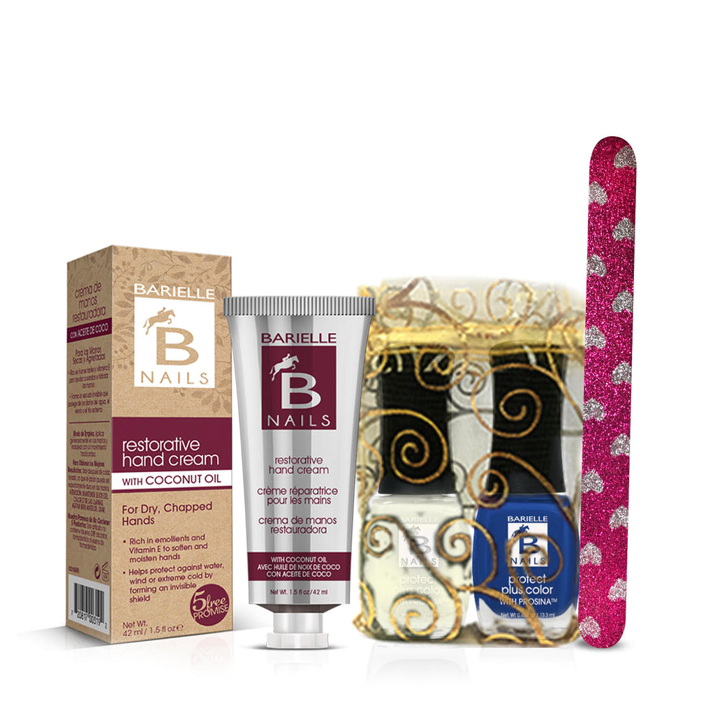 Barielle Happy Hanukkah Bundle 4-PC Gift Set - Barielle - America's Original Nail Treatment Brand
