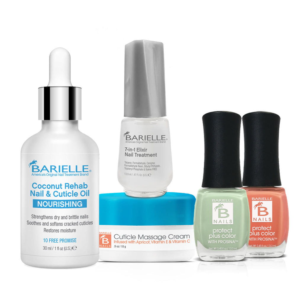 Barielle Wave in Summer Bundle 5-PC Set - Barielle - America's Original Nail Treatment Brand