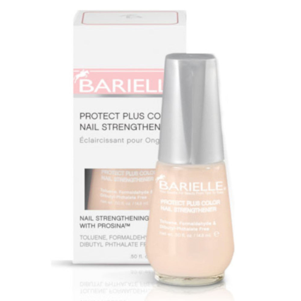 Barielle Protect Plus Color Nail Strengthener - Beige .5 oz ...